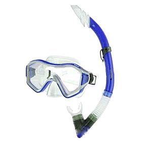 Набор для плавания Dorfin (ZLT) (маска+трубка) синий