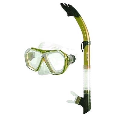 Набор для плавания Dorfin (ZLT) (маска+трубка) зеленый ZP-27745-SIL-GR