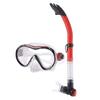 Набор для плавания Dorfin (ZLT) (маска+трубка) красный - фото 1