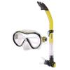 Набор для плавания детский Dorfin (ZLT) (маска+трубка) желтый - фото 1