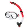 Набор для плавания Dorfin (ZLT) (маска+трубка) красный ZP-280A65-SIL-R - фото 1