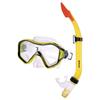 Набор для плавания Dorfin (ZLT) (маска+трубка) желтый - фото 1