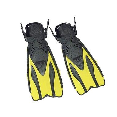 Ласты с открытой пяткой Dorfin (ZLT) желтые, размер - 38-41 PL-448-Y-38-41