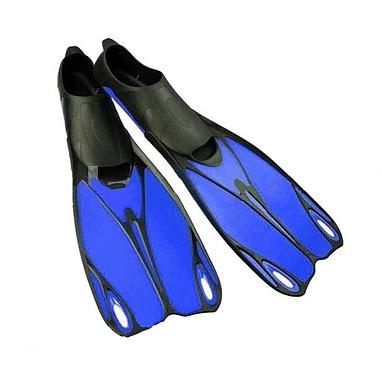 Ласты с закрытой пяткой Dorfin (ZLT) синие, размер - 44-45 ZP-436-BL-44-45