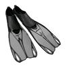 Ласты с закрытой пяткой Dorfin (ZLT) серебряные, размер - 42-43 - фото 1