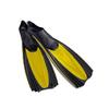 Ласты с закрытой пяткой Dorfin (ZLT) желтые, размер - 40-41 - фото 1
