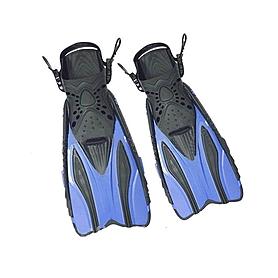 Фото 1 к товару Ласты с открытой пяткой Dorfin (ZLT) синие, размер - 38-41 PL-448-BL-38-41