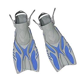 Ласты с открытой пяткой Dorfin (ZLT) синие, размер - 42-45 PL-449-L-XL-BL