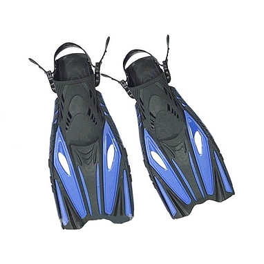 Ласты с открытой пяткой Dorfin (ZLT) синие, размер - 42-45 PL-451-BL-42-45