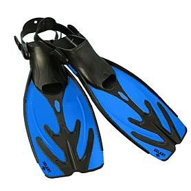 Фото 1 к товару Ласты с открытой пяткой Dorfin (ZLT) синие, размер - 38-43