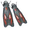 Ласты с открытой пяткой Dorfin (ZLT) красные, размер 38-41 - фото 1