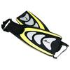 Ласты с открытой пяткой Dorfin (ZLT) желтые, размер - 42-45 - фото 1