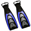 Ласты с открытой пяткой Dorfin (ZLT) синие, размер - 42-45 - фото 1