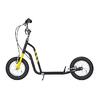 Самокат двухколесный Yedoo Wzoom черно-желтый - фото 1