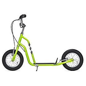 Самокат двухколесный Yedoo Wzoom зеленый