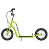 Самокат двухколесный Yedoo Wzoom зеленый - фото 1
