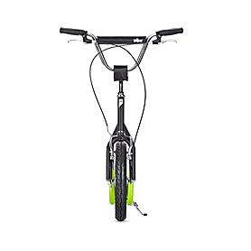 Фото 2 к товару Самокат двухколесный Yedoo City черно-зеленый