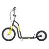Самокат двухколесный Yedoo City черно-желтый - фото 1