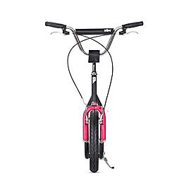 Фото 2 к товару Самокат двухколесный Yedoo City черно-пурпурный