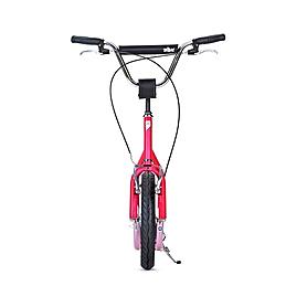 Фото 2 к товару Самокат двухколесный Yedoo City пурпурно-розовый