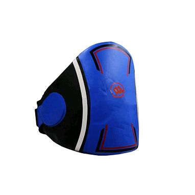 Защита корпуса (жилет) тренера PU ZLT черно-синяя