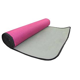 Фото 1 к товару Коврик для фитнеса Pro Supra 5 мм розовый