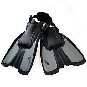 Ласты с открытой пяткой Dorfin Seals F16 серые, размер - S(34-38)