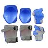 Защита для катания детская (комплект) ZLT синяя - фото 1