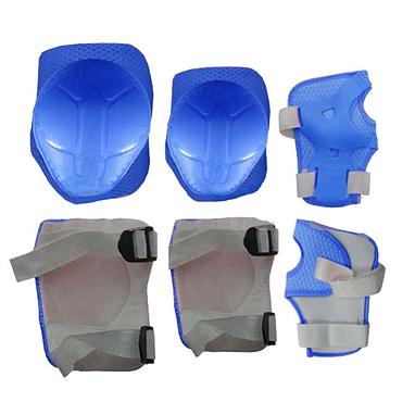 Защита для катания детская (комплект) ZLT синяя