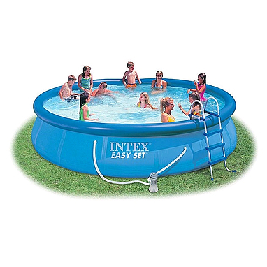 Бассейн надувной Intex Easy Set 28162 (457х91 см) с фильтрующим насосом и аксессуарами