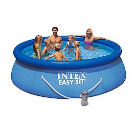 Бассейн надувной Intex 28146 (366х91 см) с фильтрующим насосом