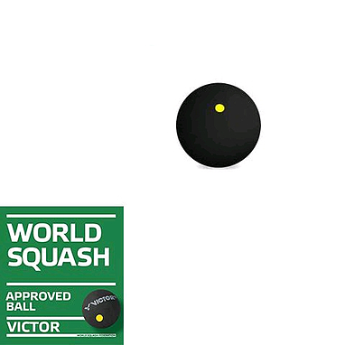 Мяч для сквоша Victor (медленный)