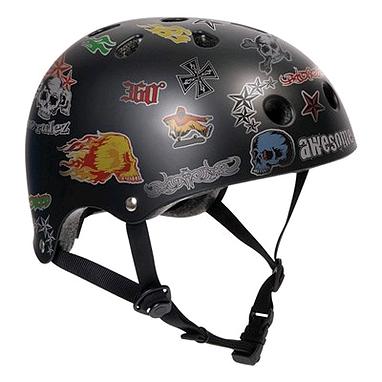 Шлем Stateside Skates Boy's Sticker, размер - S-M