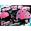 Шлем Stateside Skates Girl's Sticker, размер - XXS-XS - фото 2