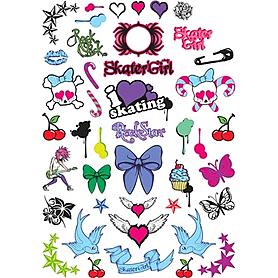 Фото 3 к товару Шлем Stateside Skates Girl's Sticker, размер - XXS-XS