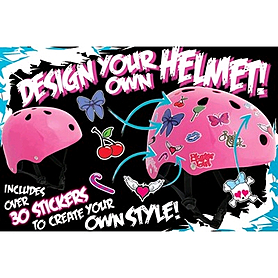 Фото 2 к товару Шлем Stateside Skates Girl's Sticker, размер - S-M