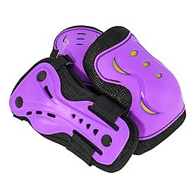 Фото 1 к товару Защита для катания детская (комплект) Stateside Skates SFR пурпурная, размер - M