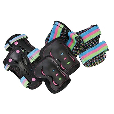 Защита для катания детская (комплект) Stateside Skates SFR диско, размер - S