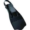 Ласты с открытой пяткой Dolvor F99 Jet Fin черные, размер - 44-46 - фото 1