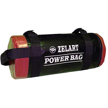 Мешок для кроссфита и фитнеса ZLT Power Bag 20 кг черно-красный