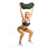 Мешок для кроссфита и фитнеса ZLT Power Bag 20 кг черно-красный - фото 2
