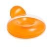 Кресло надувное пляжное Intex 58889 (137х122 см) оранжевое - фото 1