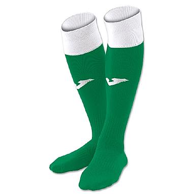 Гетры Calcio зелено-белые
