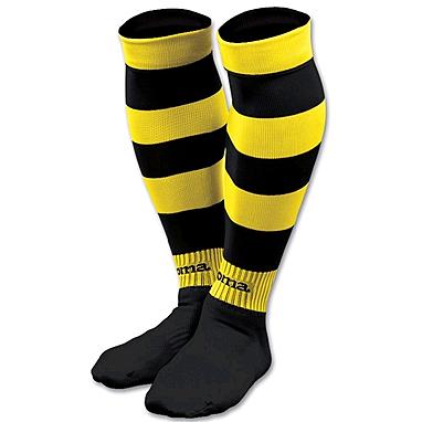 Гетры Zebra черно-желтые