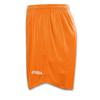Шорты футбольные Real оранжевые - фото 2