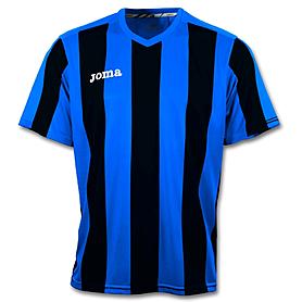 Футболка футбольная Joma Pisa 10 сине-черная