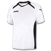 Футболка футбольная Joma Champion II бело-черная - фото 1