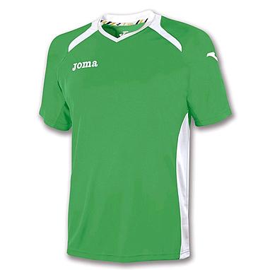 Футболка футбольная Joma Champion II зеленая