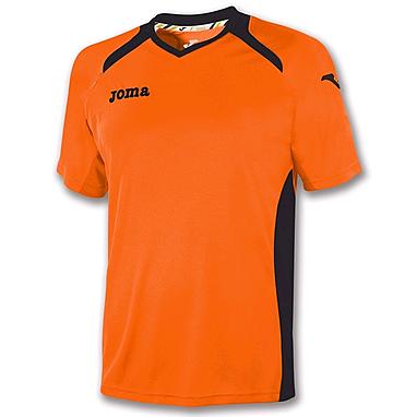 Футболка футбольная Joma Champion II оранжевая