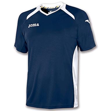 Футболка футбольная Joma Champion II темно-синяя